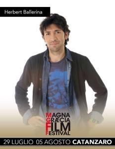 Al Magna Graecia Film Festival anche i mille volti artistici di Herbert Ballerina