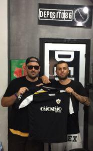 Francesco Girillo firma per il Club Quadrifoglio Soverato