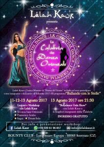 La Calabria che Danza Orientaleil 13 Agosto a Soverato