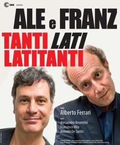 Arrivano Ale e Franz il 10 novembre al Politeama di Catanzaro e l'11 al Gentile di Cittanova