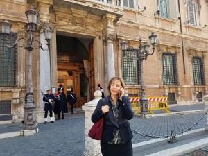 L'esordio a Palazzo Madama della neo senatrice Silvia Vono