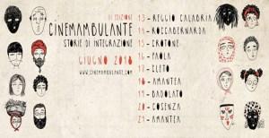 Dal 10 al 21 giugno la terza edizione di CinemAmbulante