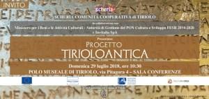 """Scherìa, il MIBAC e Invitalia presentano il progetto """"Tiriolo Antica"""""""