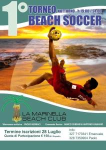 A Soverato il primo torneo notturno di Beach Soccer