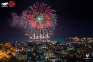 Note di Fuoco 2018: Belvedere si riconferma la regina dei fuochi d'artificio
