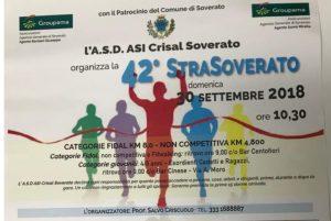 Domenica 30 settembre la 42^ StraSoverato di corsa su strada