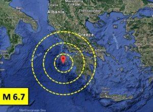Forte scossa di terremoto in Grecia, allarme tsunami rientrato