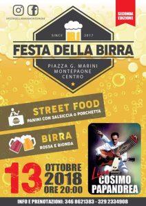 A Montepaone la seconda edizione della Festa della Birra