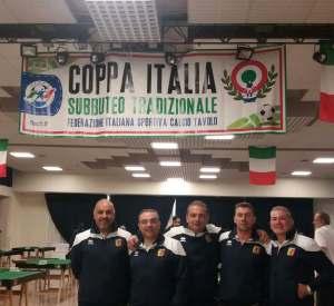 Seconda partecipazione alla Coppa Italia dell'Us Catanzaro Subbuteo
