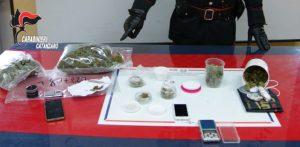 Sorpreso con 125 grammi di marijuana, 22enne di Soverato arrestato
