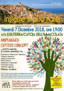Venerdì 07 Dicembre a Badolato una giornata-festa di comunità