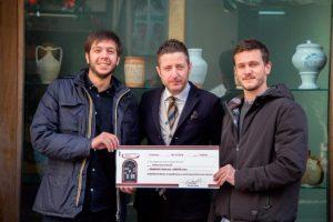 Premiati i designer Paravati e Maffei, vincitori del concorso di idee per la nuova vetrina camerale