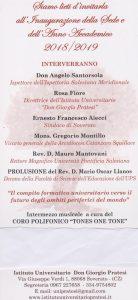 Soverato – Venerdì 21 dicembre l'inaugurazione del corso di baccalaureato in educatore sociale/professionale