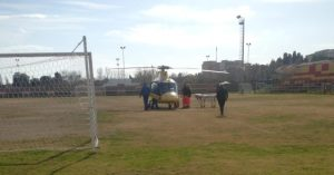 Auto contro un cinghiale a Badolato, ferito trasportato in elisoccorso