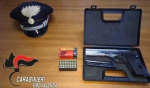 Arma clandestina nascosta nel materasso, arrestato 73enne pregiudicato