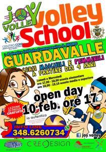 Joy Volley: Open Day il 10 Febbraio a Guardavalle Superiore. Vieni a provare la Pallavolo!