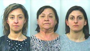 Sequestro di persona e minacce con metodo mafioso, tre donne arrestate