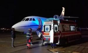 Neonato in pericolo di vita trasferito a Genova con volo dell'Aeronautica Militare