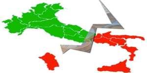 Divario Nord Sud e regionali in Calabria