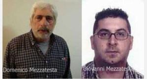 Duplice omicidio a Decollatura, confermata la condanna a 20 anni per i Mezzatesta