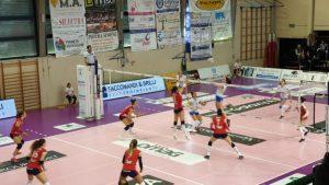 Sconfitta del Volley Soverato per tre a zero contro l'Omag Marignano