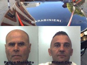 Controlli e sicurezza del territorio, due arresti dei carabinieri