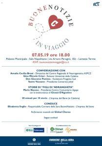 La città di Lamezia Terme e la Calabria la prossima tappa di Buone Notizie del Corriere della Sera