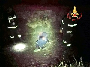 Ritrovato dai Vigili del Fuoco l'uomo disperso a Soverato