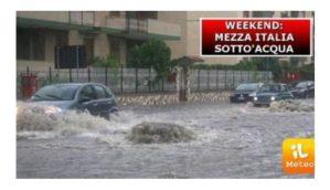Meteo – Un altro weekend di temporali e grandine. La prossima settimana arriverà un ciclone polare