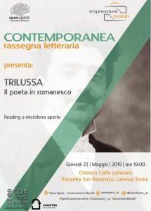 Lamezia Terme – Contemporanea ritorna con Trilussa, il poeta di Roma