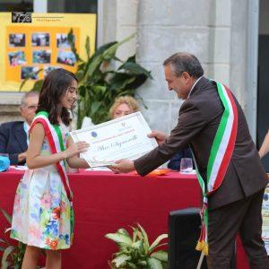 Alice Signorelli è il nuovo baby sindaco di Girifalco