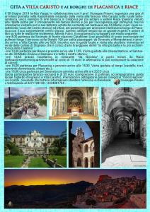 Gita da Soverato a Villa Caristo e ai borghi di Placanica e Riace