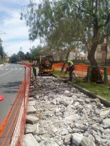 A Montepaone Lido lavori di ampliamento strada