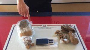 Davoli – Deteneva 350 gr di marijuana, 19enne arrestato