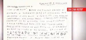 """Lettera anonima a """"Chi l'ha visto?"""": Corpo di un bimbo murato nella chiesa di Placanica"""