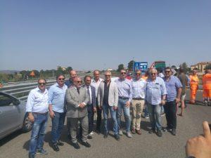 Inaugurata la nuova strada provinciale di collegamento tra Germaneto e Catanzaro Lido