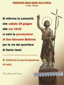 Festa patronale San Giovanni 2019, nel quartiere S. Janni (CZ) da Piero Procopio a Marco Morandi