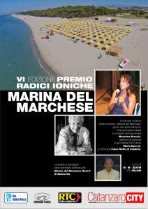 """A Botricello la VI Edizione del premio Radici Ioniche """"Marina del Marchese"""""""