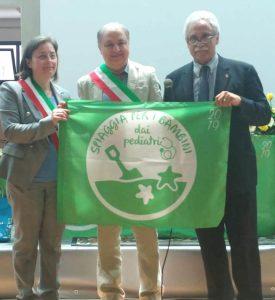 Consegnata a Squillace la Bandiera Verde per il 2019