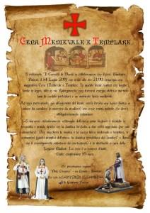 Domenica 14 Luglio Cena Medievale e Templare a Davoli Marina