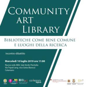 """A Catanzaro l'incontro-dibattito """"Biblioteche come bene comune e luoghi della ricerca"""""""