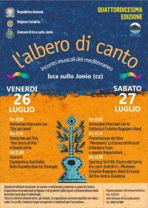 """Isca sullo Jonio – Conto alla rovescia per la la XIV edizione de """"L'Albero di Canto"""""""