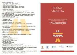 Catanzaro – Inversione senso di marcia su Corso Mazzini a partire dalle ore 7 mercoledì 17 luglio