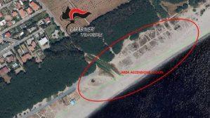 Vietati i fuochi in spiaggia, controlli appositi dei carabinieri