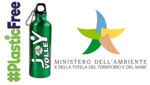 """Joy Volley riconosciuta dal Ministero dell'Ambiente per il progetto """"Plastic Free"""" in palestra"""