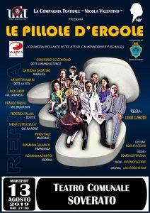 """Ancora un tutto esaurito al teatro comunale di Soverato per """"Le pillole d'Ercole"""""""