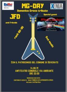 A Soverato il 14 Agosto MG-Day, festival rock in memoria di Domenico Greco