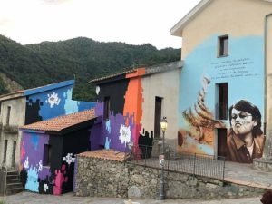 Savuci in Festival si è chiuso con il murales dedicato a De Andrè e la musica di Carmine Torchia