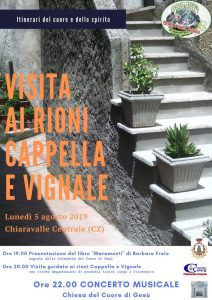 Chiaravalle Centrale, cultura e gastronomia nei rioni Cappella e Vignale