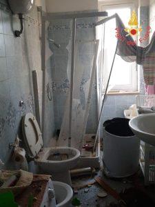 Scoppia uno scaldino elettrico in un appartamento nel catanzarese, diversi danni